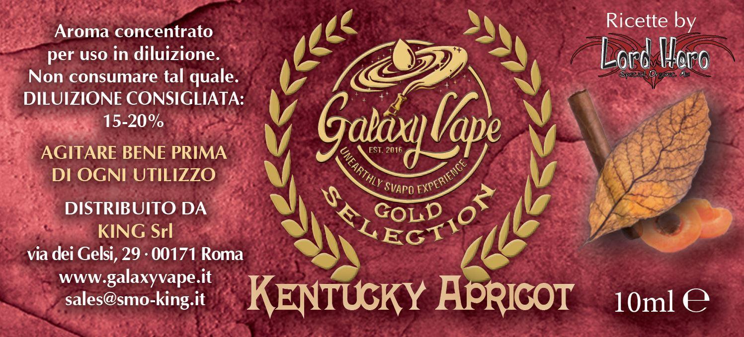 Kentucky Apricot Galaxy Vape 10ml