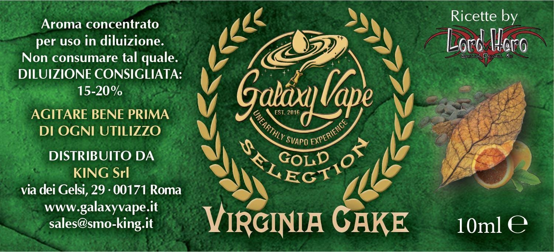Virginia Cake Galaxy Vape 10ML