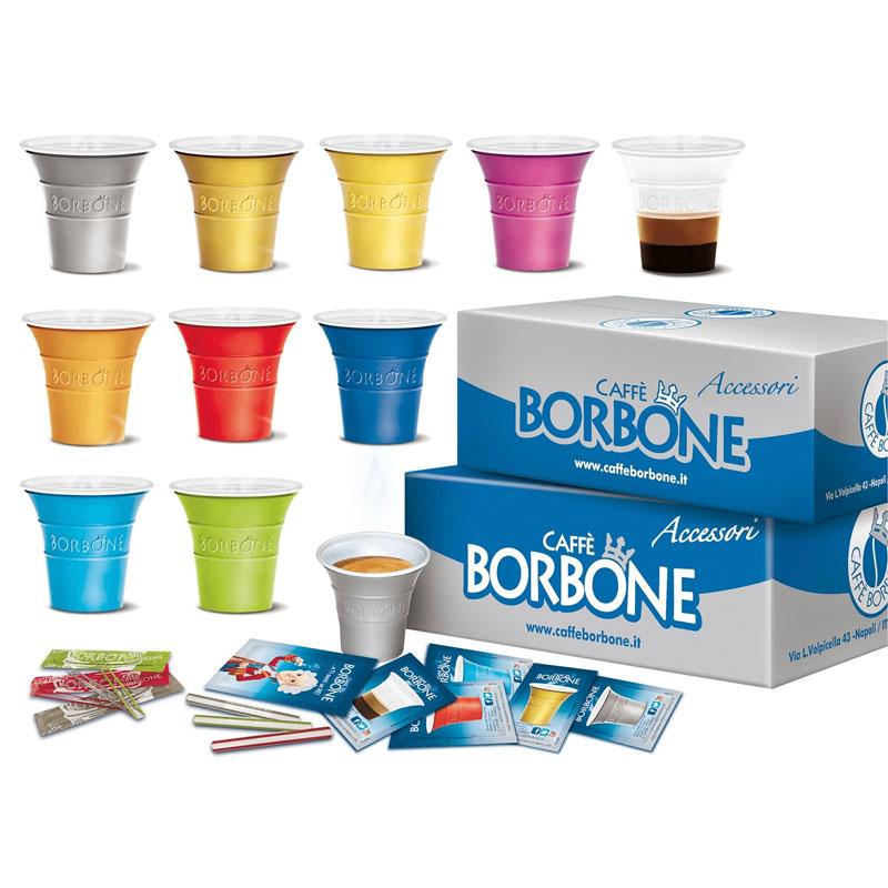 Borbone Kit Accessori per Caffè - 100 Pezzi