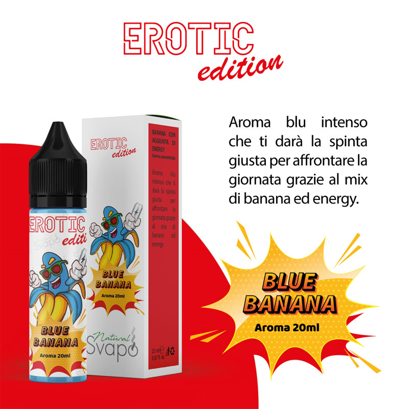BLUE BANANA Aroma 20 ml Natural Svapo