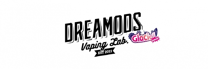 Logo Aromi Concentrati DreaMods per Sigaretta Elettronica Linea Glacial Explosion
