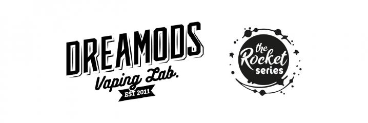 Logo Aromi Concentrati DreaMods per Sigaretta Elettronica Linea The Rocket