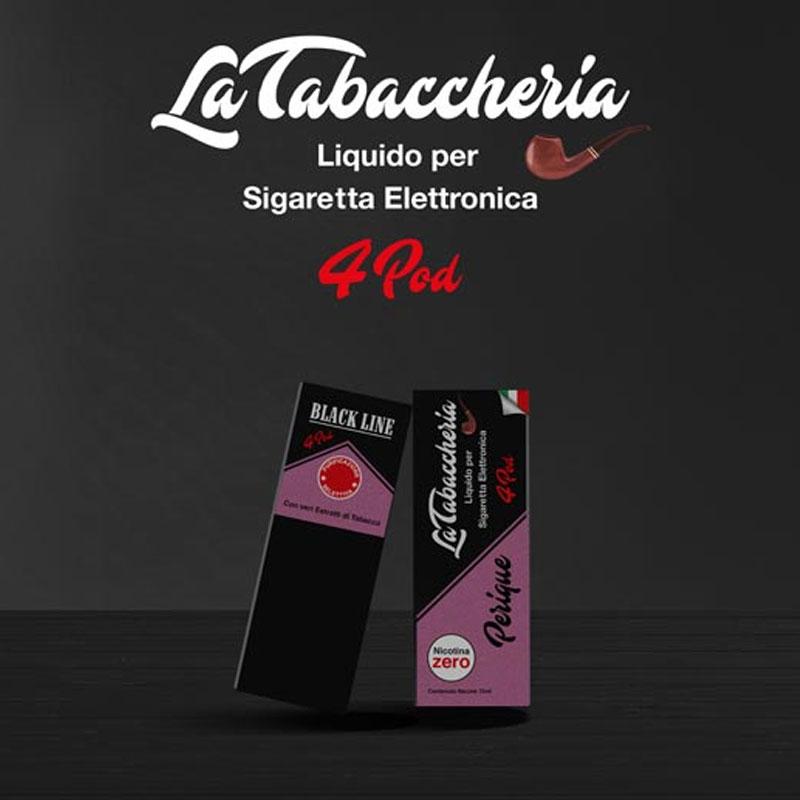 La Tabaccheria Black Line 4Pod Perique 10ml Liquido TPD