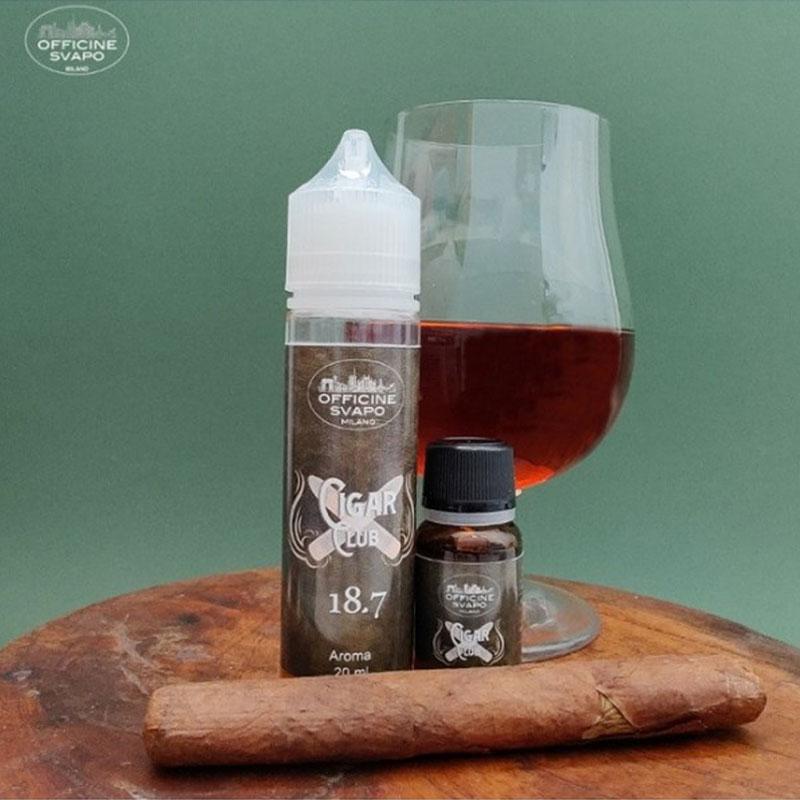CIGAR CLUB 18.7 Aroma 20 ml OFFICINE SVAPO