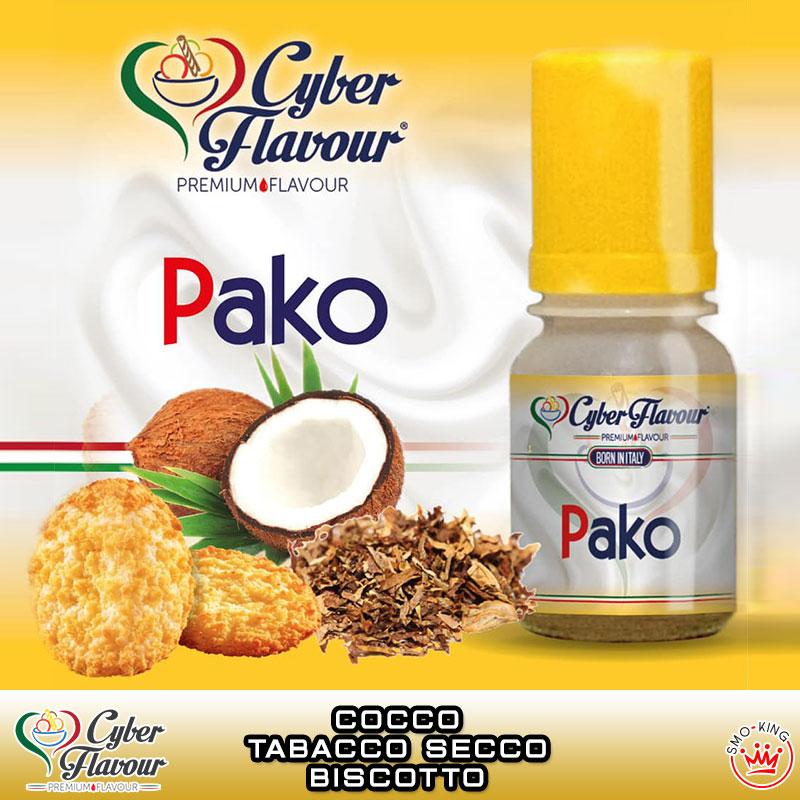 PAKO Aroma 10 ml CYBER FLAVOUR