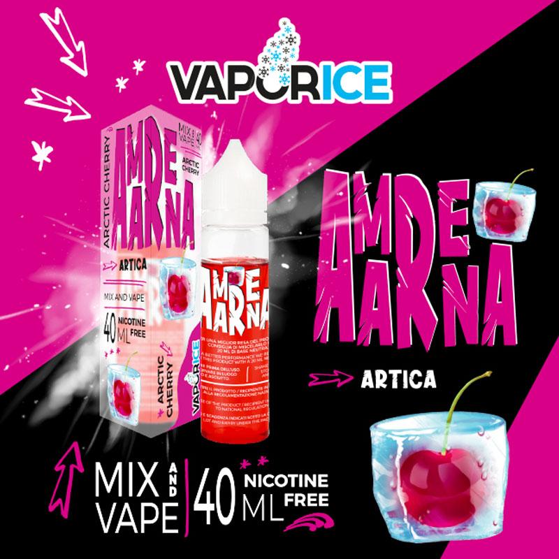 VAPORICE AMARENA Liquido 40 ml Mix VAPORART