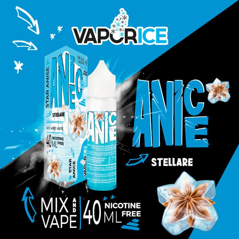 VAPORICE ANICE Liquido 40 ml Mix VAPORART