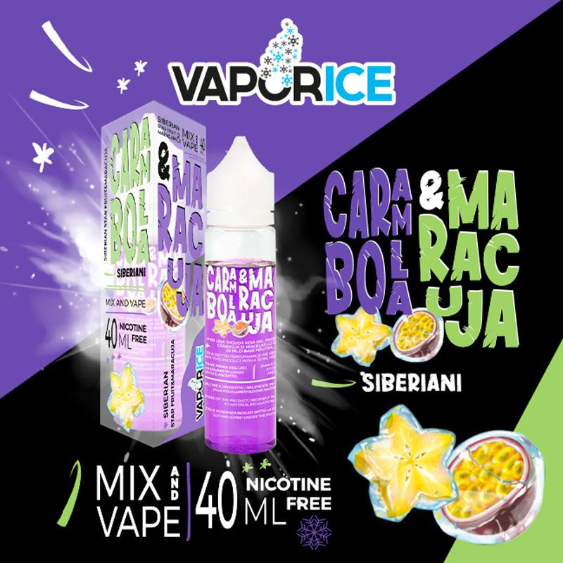 VAPORICE CARAMBOLA & MARACUJA Liquido 40 ml Mix VAPORART
