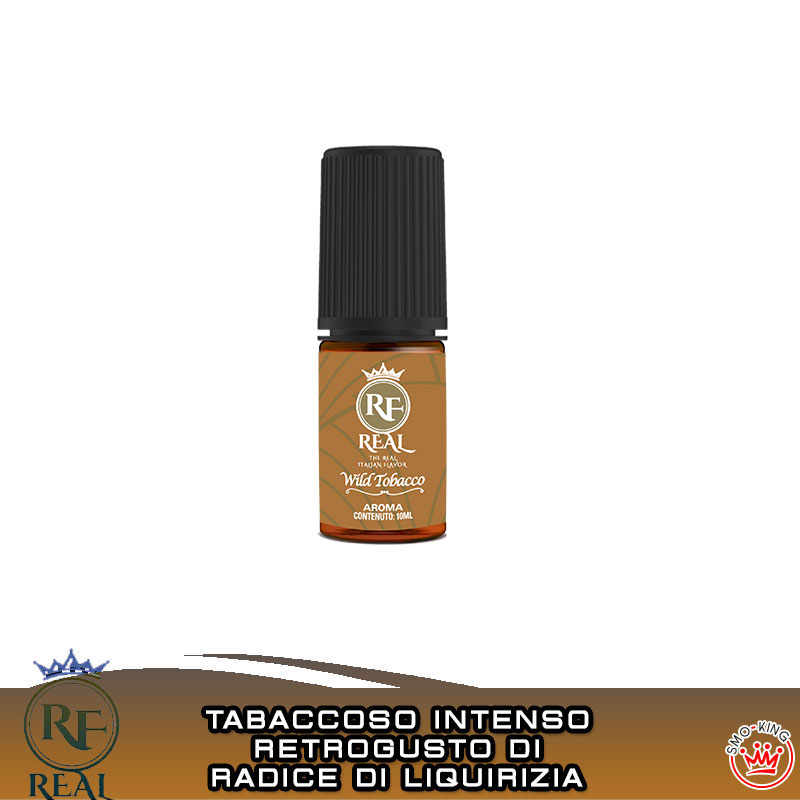 WILD TOBACCO Aroma 10 ml REAL FARMA