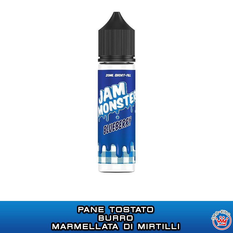 BLUEBERRY Aroma 20 ml JAM MONSTER