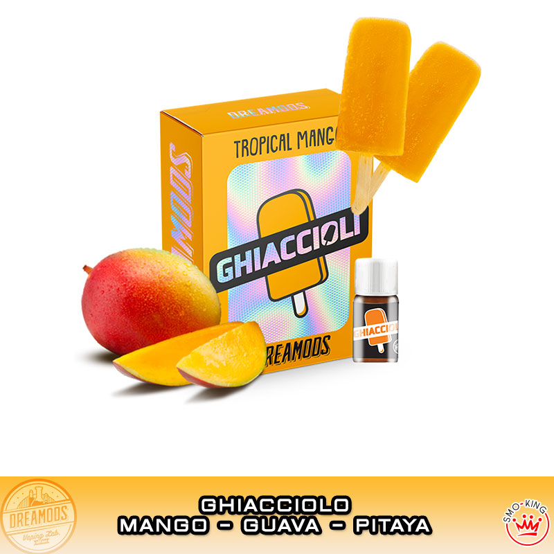 TROPICAL MANGO Ghiaccioli Aroma 10 ml DREAMODS