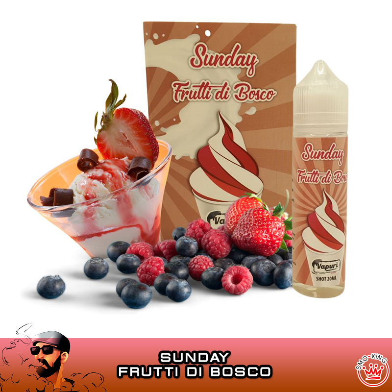 SUNDAY FRUTTI DI BOSCO Aroma 20 ml VAPURÌ