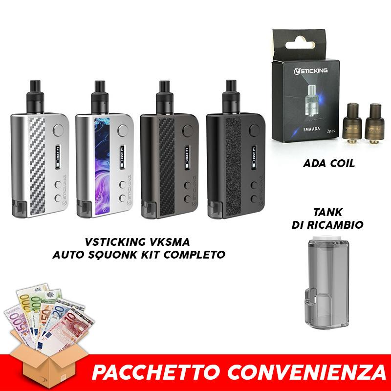 VKSMA Auto Squonk Pacchetto Convenienza VSTICKING