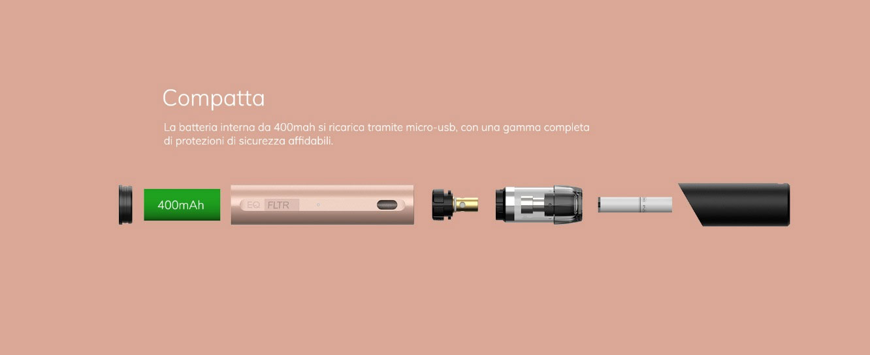 Innokin EQ FLTR Pod Mod con Fiiltro Sigaretta Elettonica