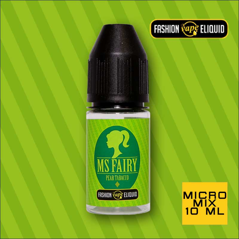 Fashion Vape Eliquid MS Fairy Pear Tobacco MICRO MIX 10ml