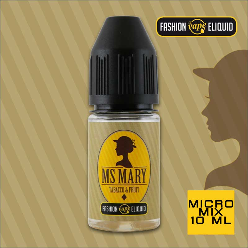 Fashion Vape Eliquid Ms Mary Tabacco & Fruit MICRO MIX 10ml