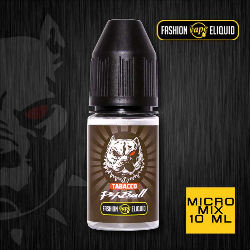 Fashion Vape Eliquid Pitbull Tobacco MICRO MIX 10ml