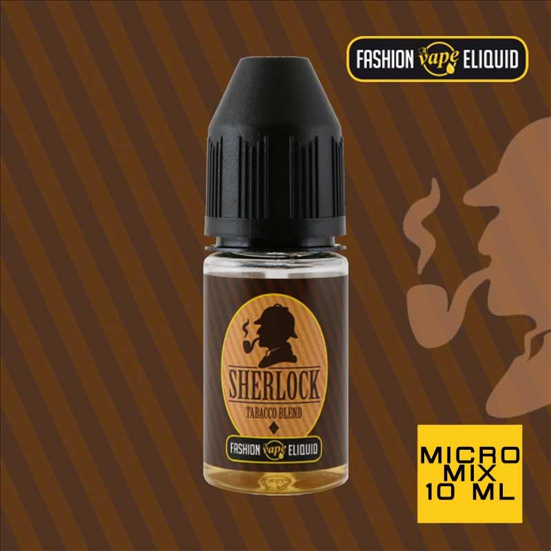 Fashion Vape Eliquid Sherlock Tabacco Blend MICRO MIX 10ml