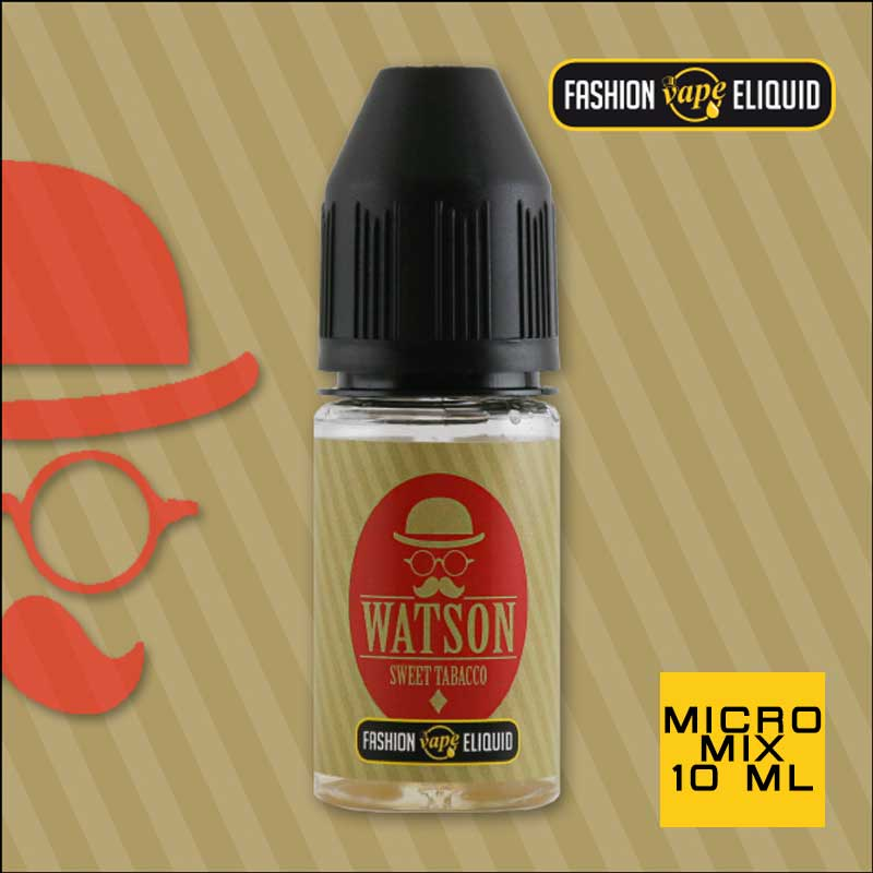 Fashion Vape Eliquid Watson Sweet Tabacco MICRO MIX 10ml