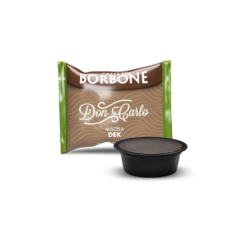 LAVAZZA 50pz Capsule Caffè Borbone Don Carlo Miscela Verde DEK