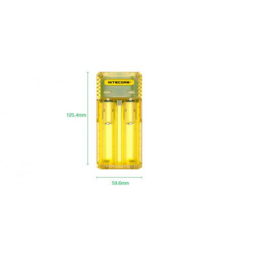 Nitecore-Q2-Caricabatterie