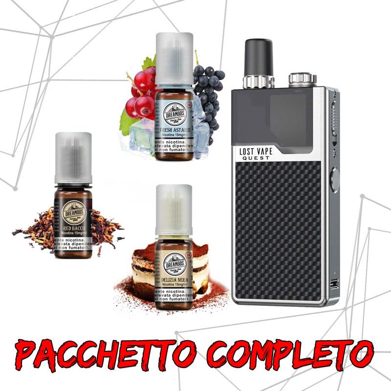 Pacchetto Orion Q + 3 Liquidi DreaMods