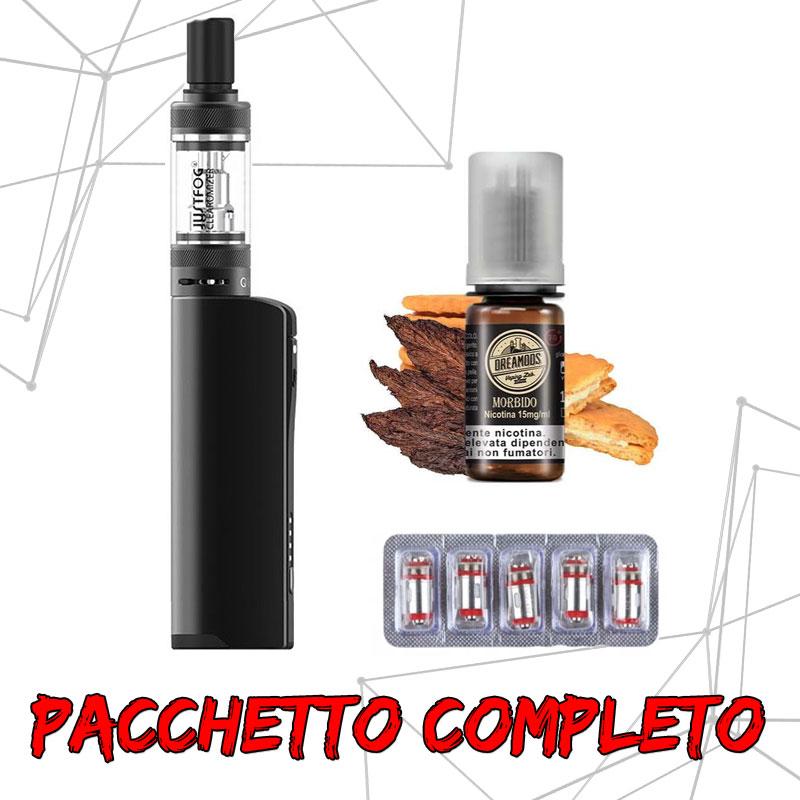 Pacchetto Q16 Pro Kit + Liquido DreaMods + Coil Ricambio