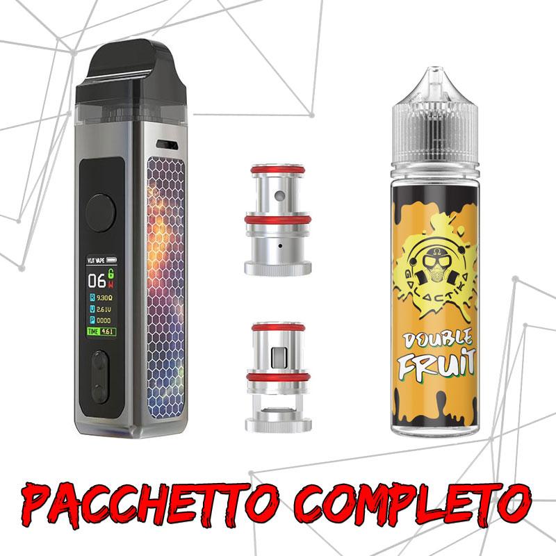 Pacchetto Vlit Mecco + Double Fruit + Coil Ricambio