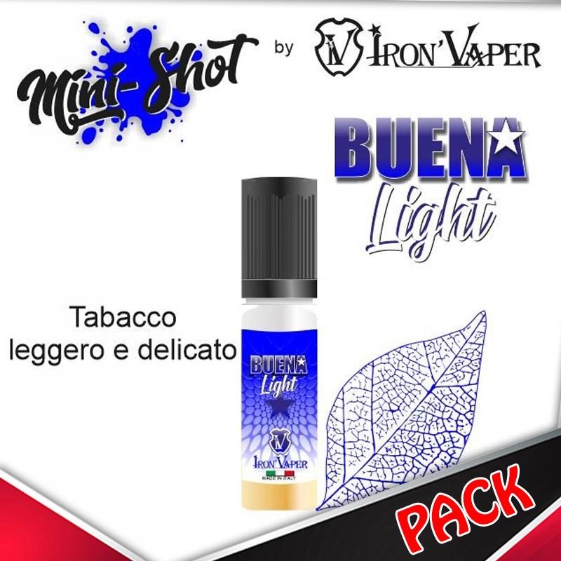 Mini Shot Iron Vaper Buena Light Pack