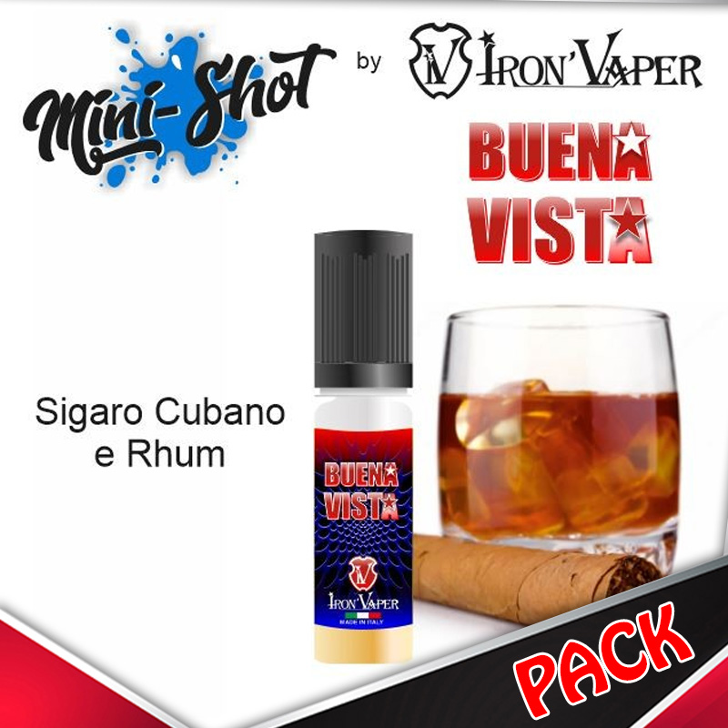 Mini Shot Iron Vaper Buena Vista Pack