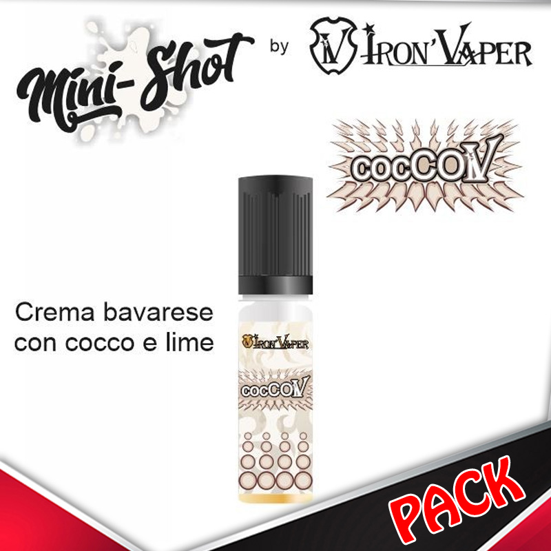 Mini Shot Iron Vaper Coccoiv Pack