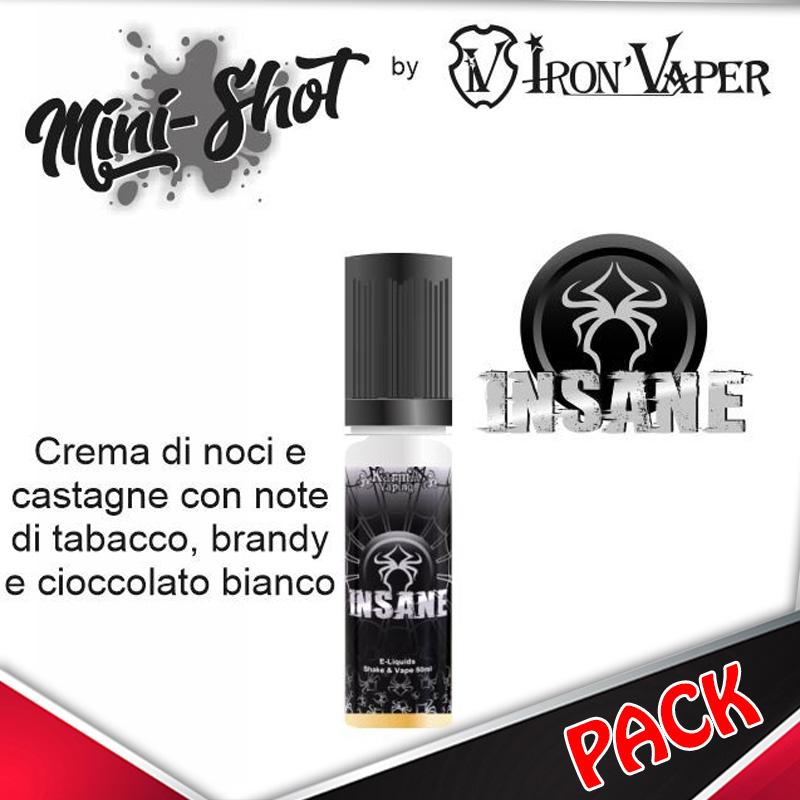 Mini Shot Iron Vaper Insane Pack