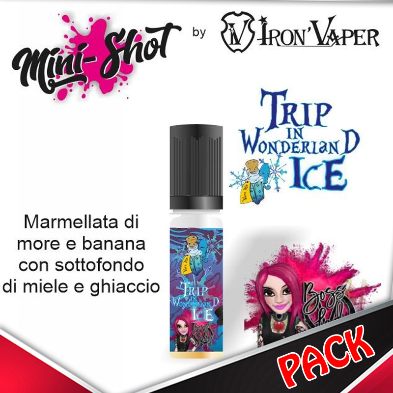 Mini Shot Iron Vaper Trip in Wonderland Ice Pack