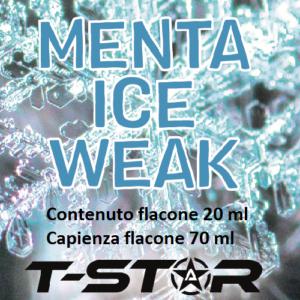 T-Star Menta Ice Weak Aroma 20 ml