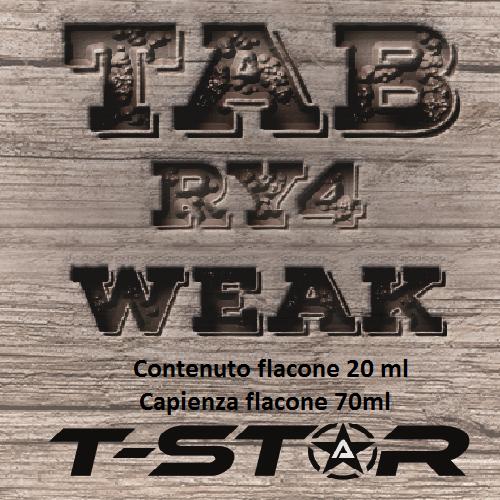 T-Star RY4 Weak Aroma 20 ml
