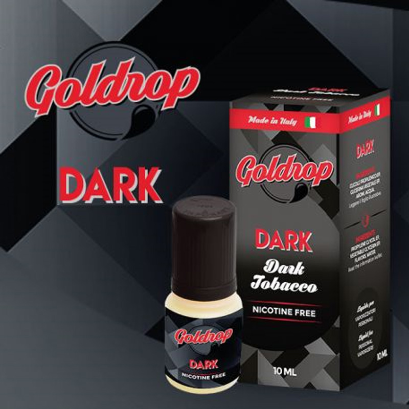 Vaporart Goldrop Dark 10 ml Nicotine Eliquid