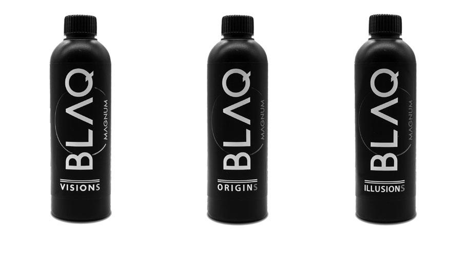 BLAQ VAPOR Liquidi Sigarette Elettroniche 75ml in 250ml