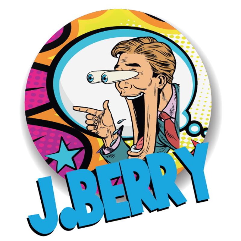 Jamplab J. Berry Aroma 20 ml Liquido per Sigaretta Elettronica