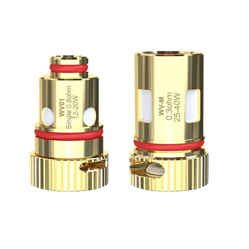 Wismec R80 Resistenze Ricambio WV per Sigaretta Elettronica