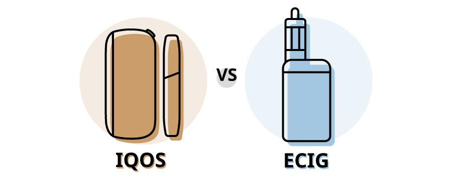 iqos vs Sigaretta Elettronica