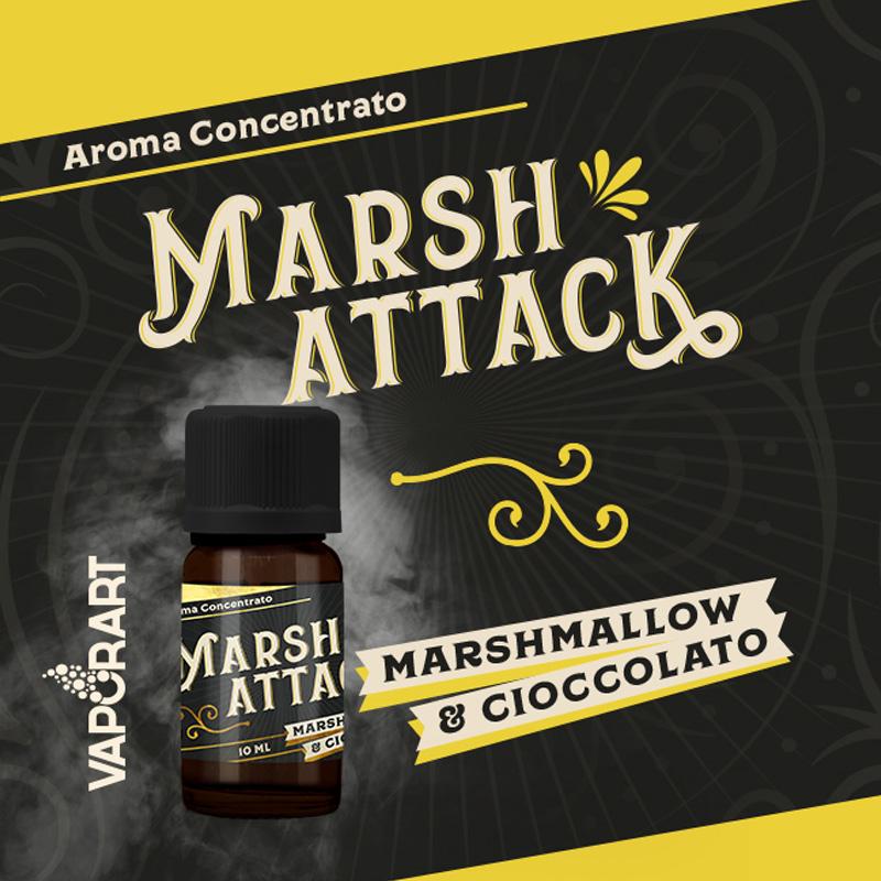 Vaporart Aroma Concentrato Marsh Attack 10ml Liquido per Sigaretta Elettronica