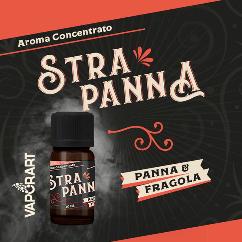 Vaporart Aroma Concentrato Stra Panna 10ml Liquido per Sigaretta Elettronica