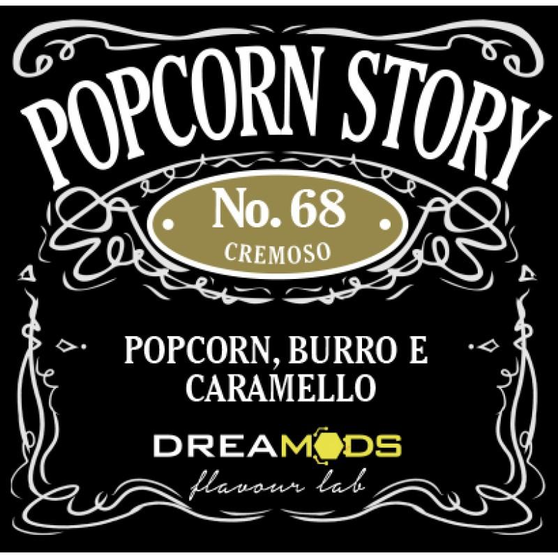 Drea Mods Popcorn Story No.68 Aroma e Liquido 10ml