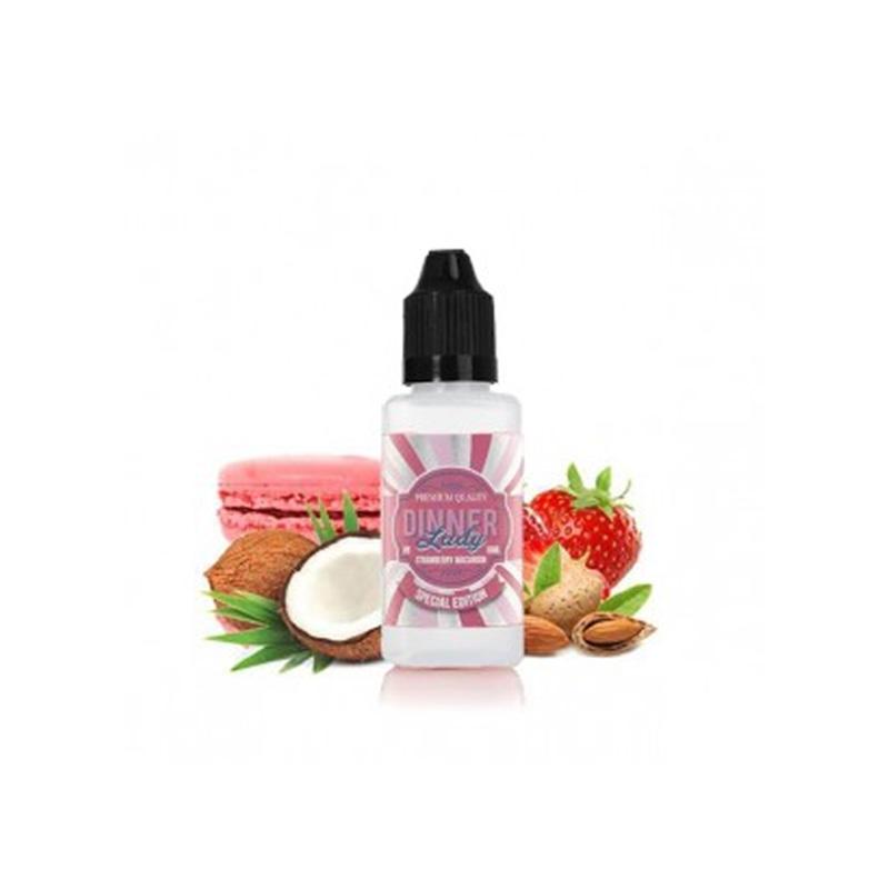 Dinner Lady Strawberry Macaroon Mini Shot Aroma 10 ml