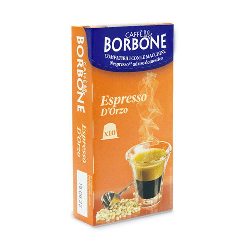 Nespresso 10pz Capsule ORZO Caffè Borbone