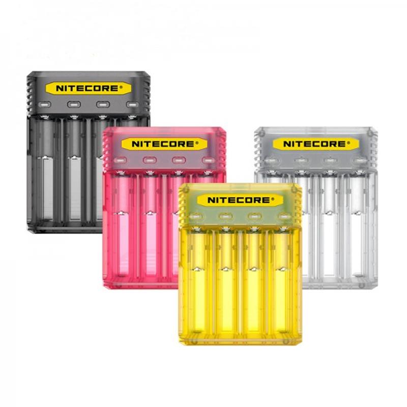 Nitecore Q4 Caricabatterie 4 Piste per Sigaretta Elettronica