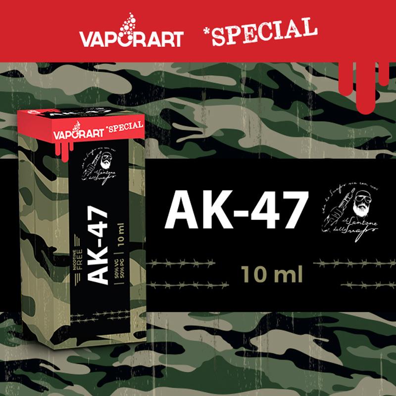 Vaporart AK-47 10 ml Liquido Pronto Nicotina per Sigaretta Elettronica