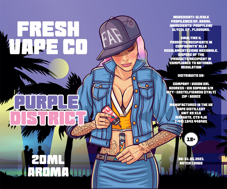 Fresh Vape Co Purple District Aroma 20 ml20 ml