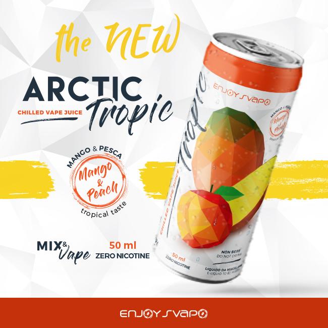 Liquido Enjoysvapo Arctic Tropic 50 ml mix