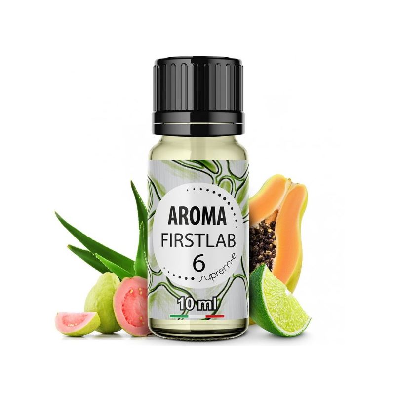 Aloe Papaya Lime e Guava per il nuovissimo first lab 6